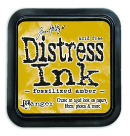 Ranger Distress Inks pad - fossilized amber TIM43225 Tim Holtz