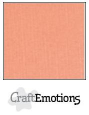 CraftEmotions linnenkarton - zalm LHC-43 A4 250gr