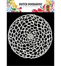 Dutch Doobadoo - 470715617 - Mask Art Flower circle
