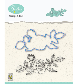 Nellie`s Choice - HDCS006 - Flowers serie: -Rose-
