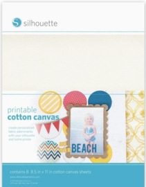 Silhouette Printable Cotton Canvas