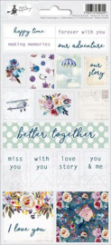 Piatek13 - Sticker sheet When we first met 02 P13-384 10,5x23 cm