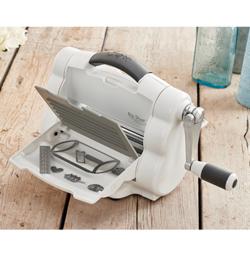 Sizzix Big Shot Foldaway Starter Kit White & Grey 662220 (A5)