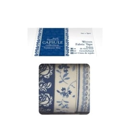 Capsule Collection - Parisienne Blue - 3x1m Fabric Tape
