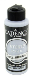 Cadence Hybride acrylverf (semi mat) Slate - grijs 01 001 0057 0120 120 ml