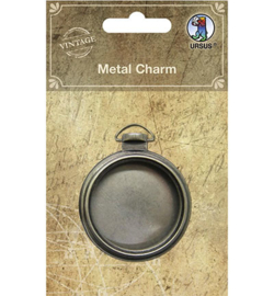 Ursus - Metal Charm with glass lid
