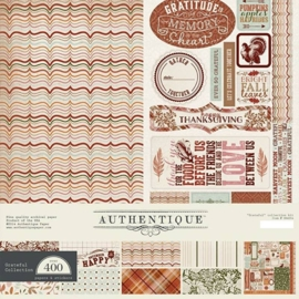 Collection Kit - Authentique Grateful 12x12 Inch - (GRA064)
