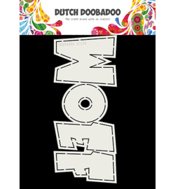 Dutch Doobadoo - 470713726 - Card Art WOEF