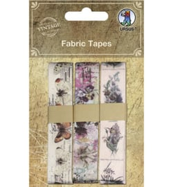 Ursus - Fabric Tapes, Cloth Ribbon self-adhesive motif 2