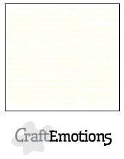 CraftEmotions linnenkarton gebroken wit 27x13,5cm 250gr