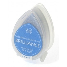 Brilliance Dew Drop, Pearlescent Sky Blue