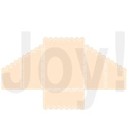 Joy! Crafts - 6002/0899 - Kaartmodel geschulpt