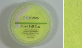 Foamball clay - luchtdrogende klei - citroen 15gr