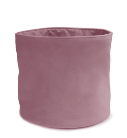 5354D.1416/16 - Velvet Deluxe Pot Basket, Old Rose