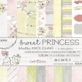 "Paper Collection Set 6""*6"" Sweet Princess, 250 gsm"