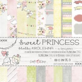 "Paper Collection Set 6""*6"" Sweet Princess, 250 gsm"