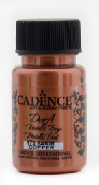 Cadence Dora metallic verf Koper 01 011 0173 0050 50 ml