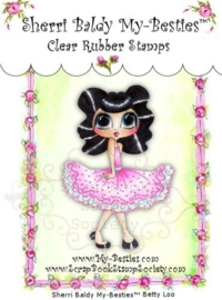 My-Besties Betty Loo Clear Rubber Stamp
