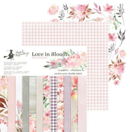 Piatek13 - Paper pad Love in Bloom 12 P13-252 12x12