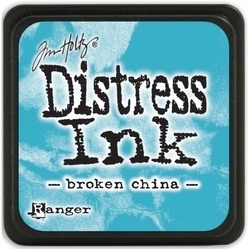 Tim Holtz distress mini ink broken china