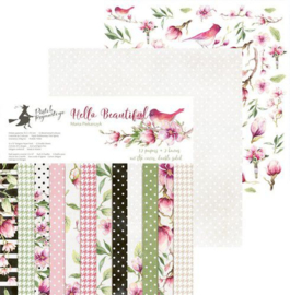 Piatek13 - Paper pad Hello Beautiful 12 P13-206 12x12