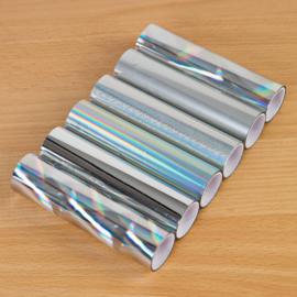 TODO Pack Of 6 Silver Tonal Foils (18183)