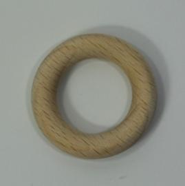 Houten ring beuken blank 35x7mm (1 stuks)
