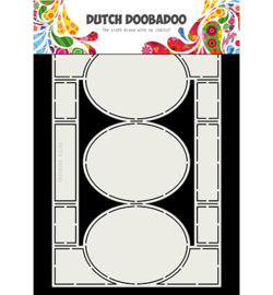 Dutch Doobadoo - 470713336 - Dutch Swing Card Art Oval