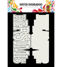Dutch Doobadoo - 470713724 - Card Art Kerstmis