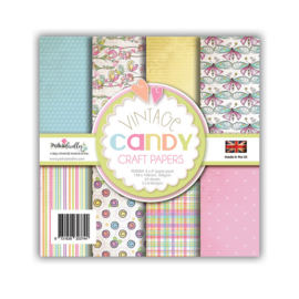 Polkadoodles Vintage Candy 6x6 Inch Paper Pack (PD8004)