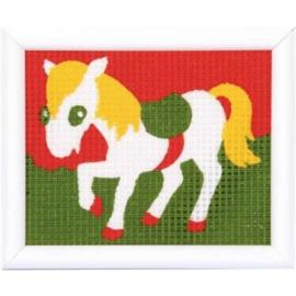 Borduurpakket Kinderpakket pony 1320-2521 Vervaco PN-0009567