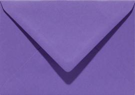Papicolor Envelop C6 paars 105gr-CV 6 st 302946 - 114x162 mm