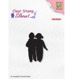 Nellie`s Choice - SIL075 - Silhouettes Close Friends