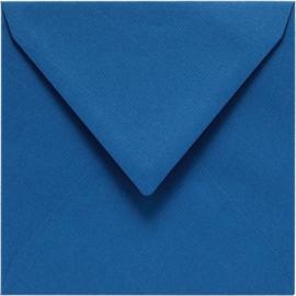 Papicolor Envelop vierk. 14cm royal blauw 105gr-CV 6 st 303972 - 140x140 mm