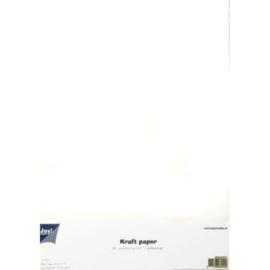 Kraftpapier Wit