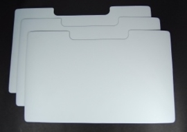 Refill magnetic sheets XL die store case