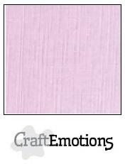 CraftEmotions linnenkarton zacht lila 30,5x30,5cm