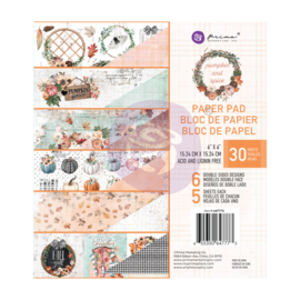 Prima Marketing Pumpkin & Spice 6x6 Inch Paper Pad (647773)