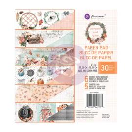 Prima Marketing Pumpkin & Spice 6x6 Inch Paper Pad (647773)