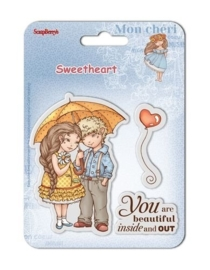 Clear Stamps 10,5x10,5 cm Sweetheart No. 1 (SCB4907004B)