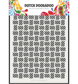 Dutch Doobadoo - 470715134 - Mask Art stripe pattern los