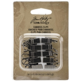 Tim Holtz Idea-Ology Metal Carousel Clips