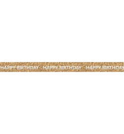 Ursus - Cork Tape - Happy birthday silver