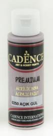 Cadence Premium acrylverf (semi mat) Lichtroze 01 003 0250 0070 70 ml