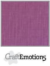 CraftEmotions linnenkarton purper 27x13,5cm 250gr