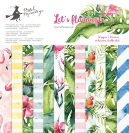 Piatek13 - Paper pad Let's flamingle 12 P13-276 12x12