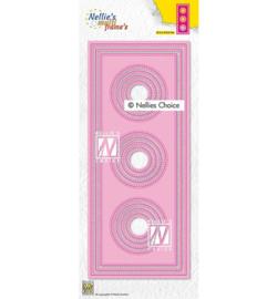 Nellie`s Choice - MFD139 - Slimlines circles-1