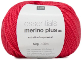 Rico Design - Essentials Merino Plus dk 005 Coral