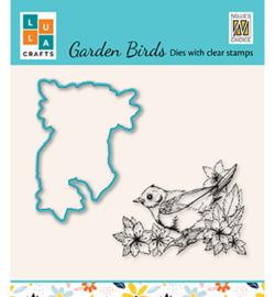 Nellie`s Choice - HDCS010 - Garden bird-2