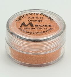 Embossing powder - Orange